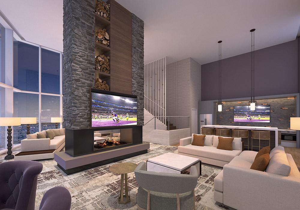 Omni Viking Lakes Hotel Hospitality Suite