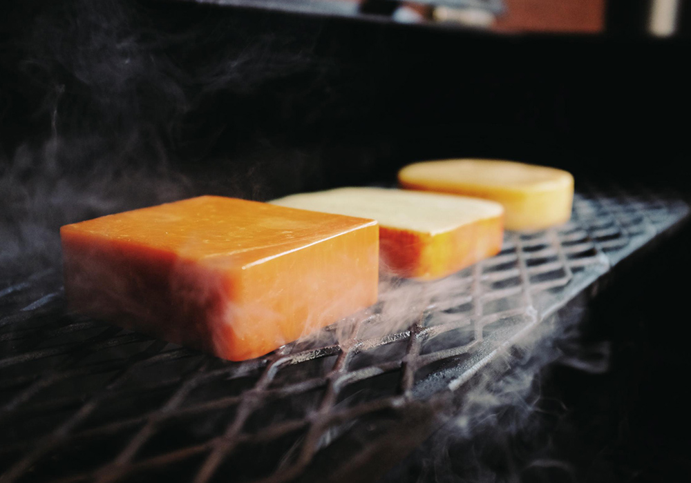 Smoked Local Cheddar Cheese