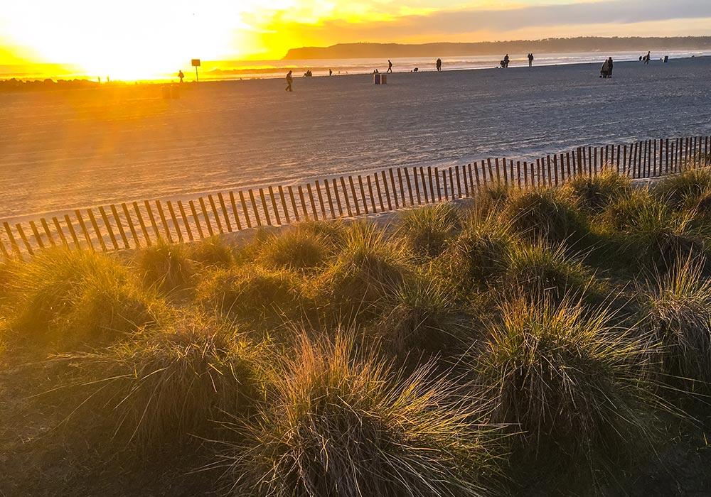 Coronado Island Beach, California