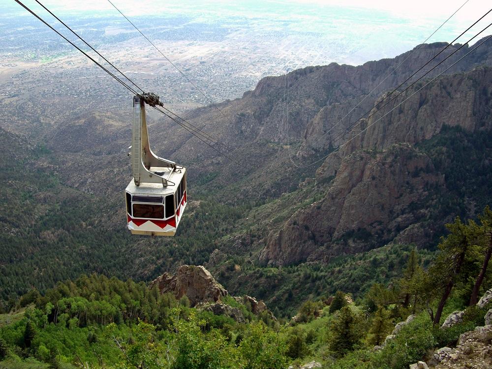 Sandia Tramway New Mexico