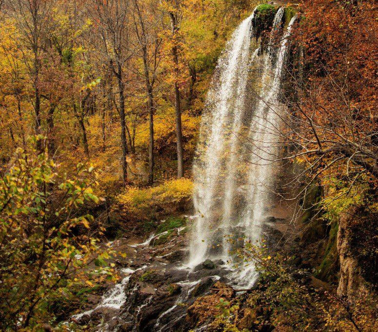 Virginia Road Trip - Falling Spring Falls