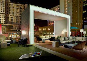 Omni Charlotte Hotel Pool Deck