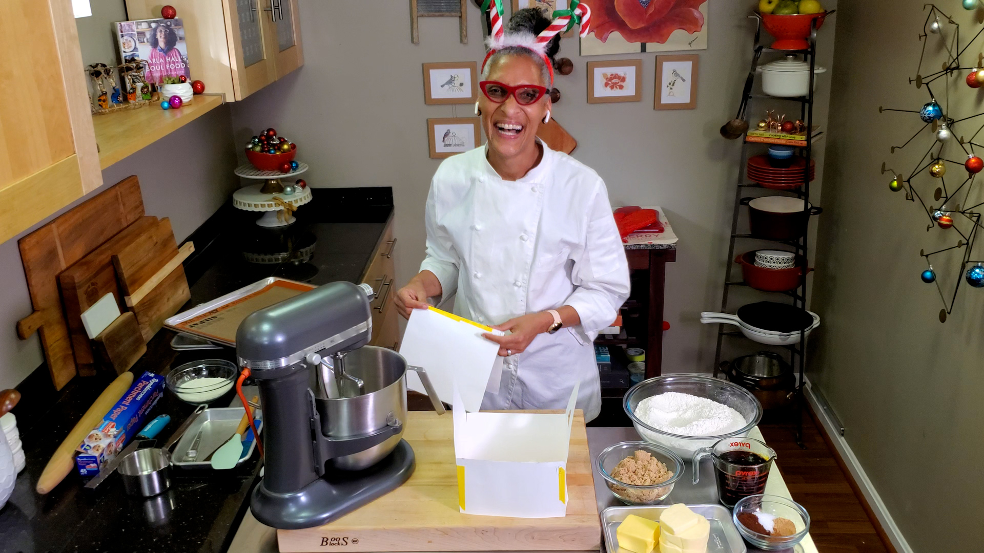Chef Carla Hall - How to Make a Gingerbread House
