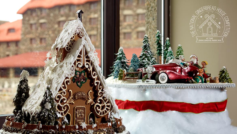 Omni Grove Park Inn - Gingerbread House