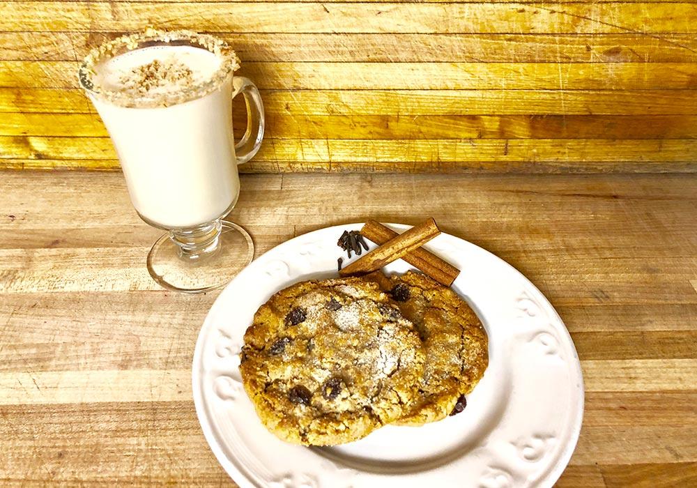 Groovy Oatmeal Cookies