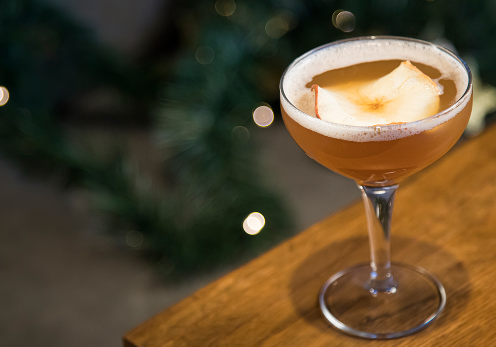 Autumn Whiskey Sour
