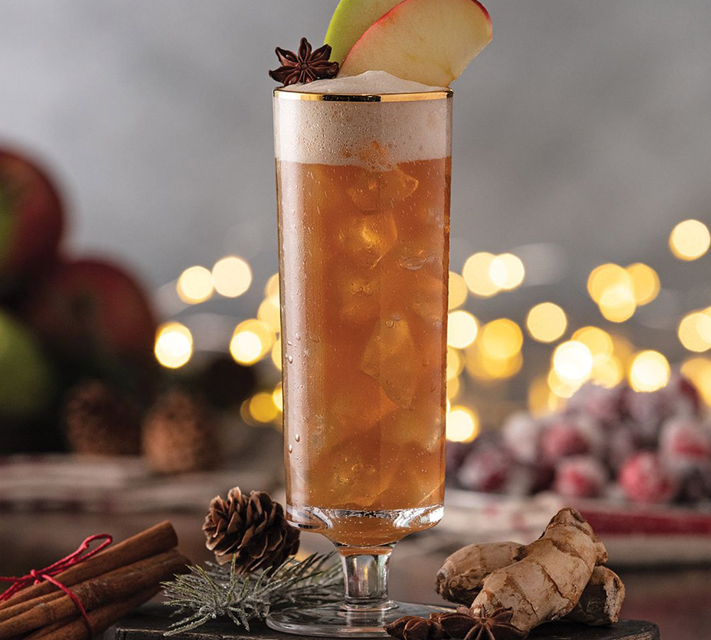 Gingerbread Sour cocktail