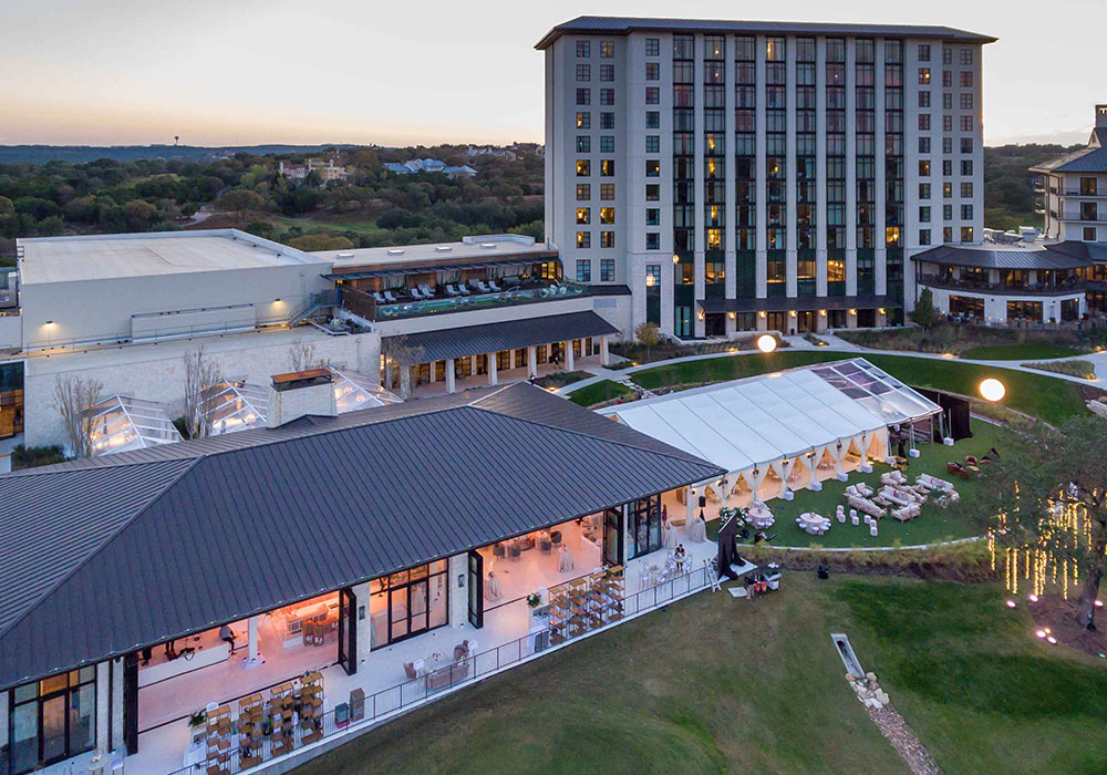 Omni Barton Creek Outdoor Wedding Venue