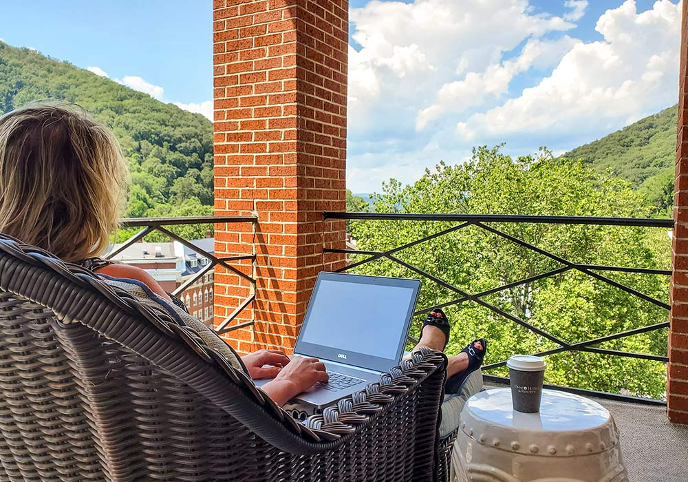 Working Remotely from Virginia