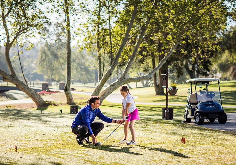 Kids instruction at Omni La Costa Resort & Spa