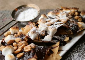 Chocolate Nachos, Omni Dallas Hotel
